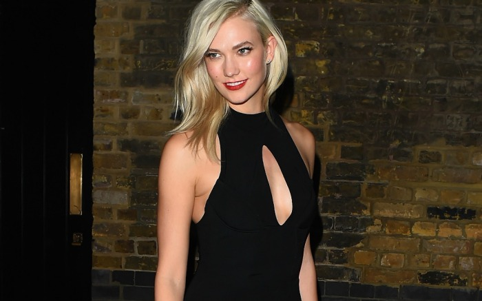 Karlie Kloss out and about in London.