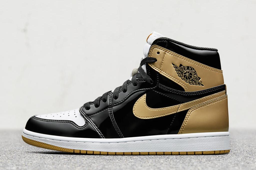 Air Jordan 1 Top 3 Gold