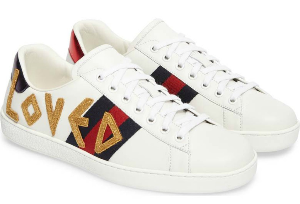 gucci New Ace Loved Sneaker