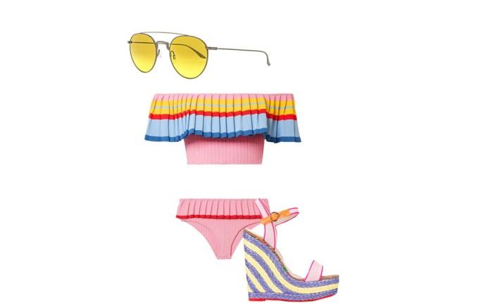 Miami, beach, swim