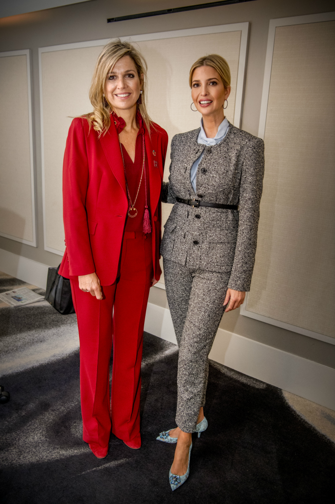 ivanka trump, Queen Maxima of the Netherland, dolce and gabbana