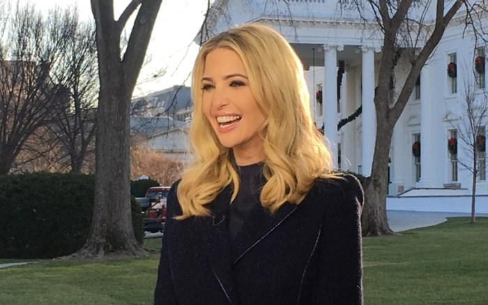 Ivanka Trump, White House, Fox & Friends