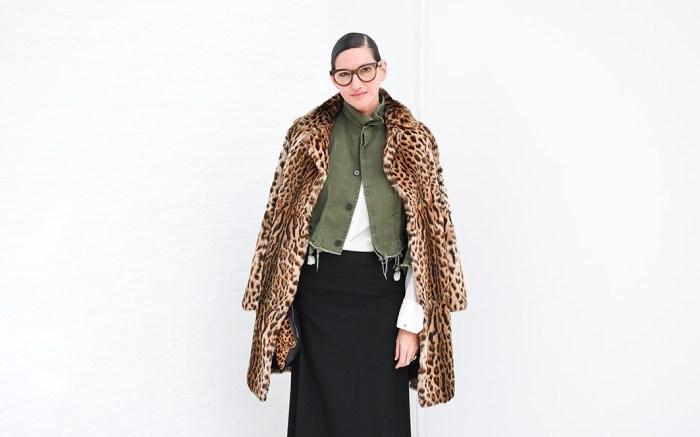 Jenna LyonsMara Hoffman show, Fall Winter 2017, New York Fashion Week, USA - 13 Feb 2017
