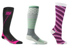 15 Compression Socks and Tights for Work, Traveling, and More