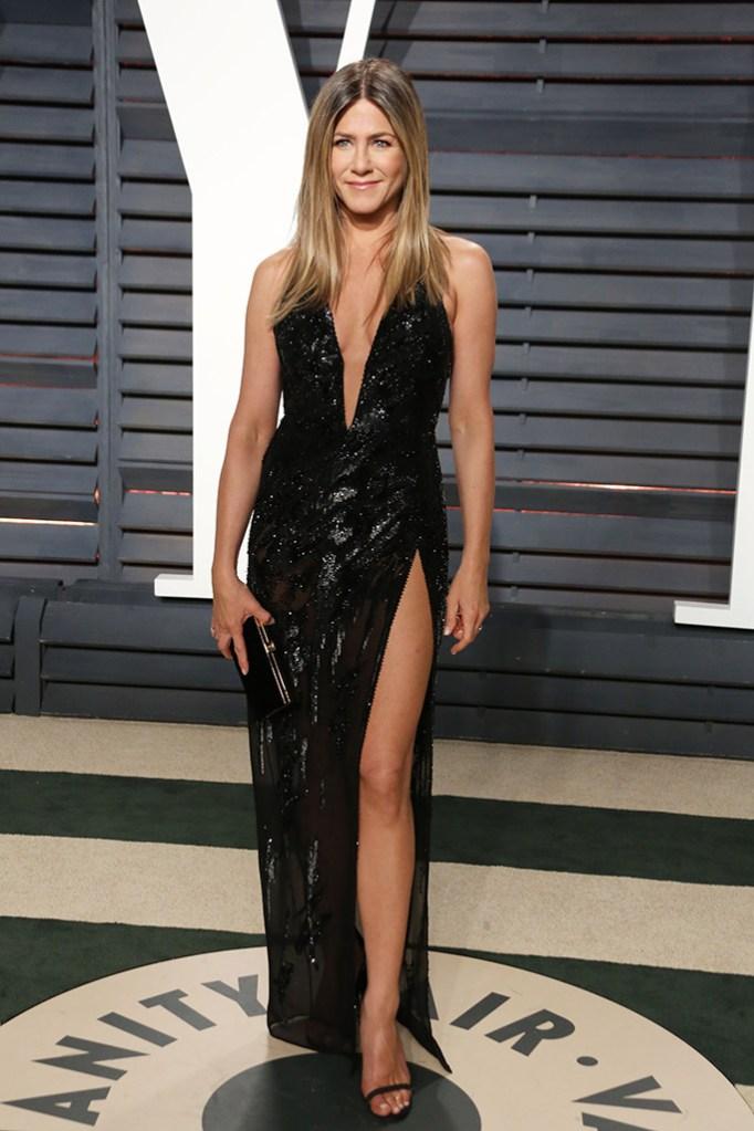 Jennifer Aniston Vanity Fair Oscars 2017