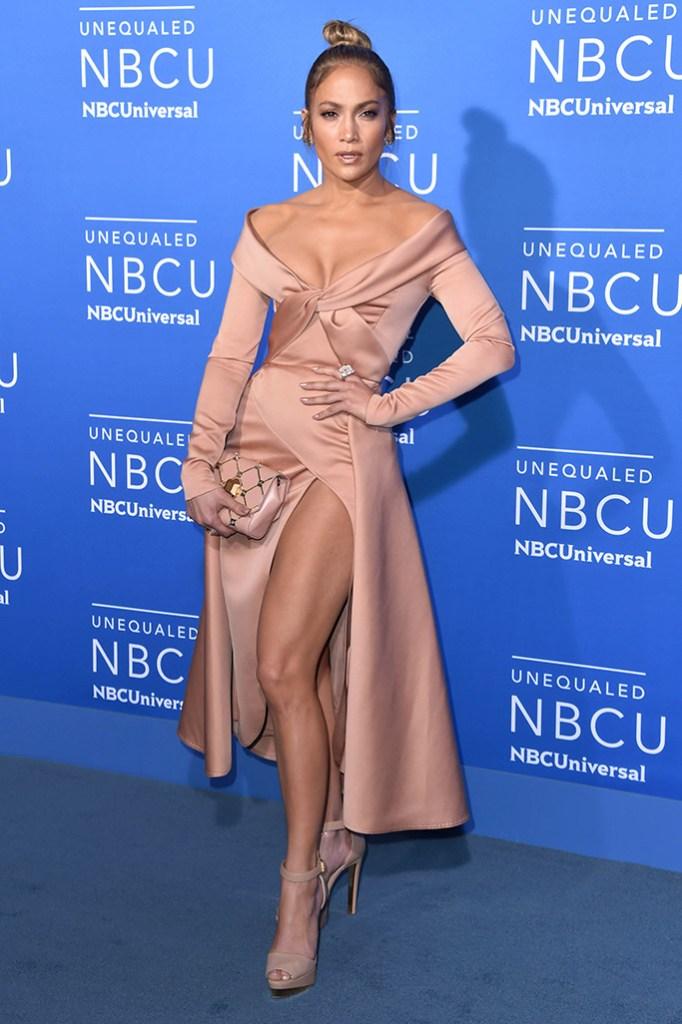 Jennifer Lopez NBCUniversal Upfront