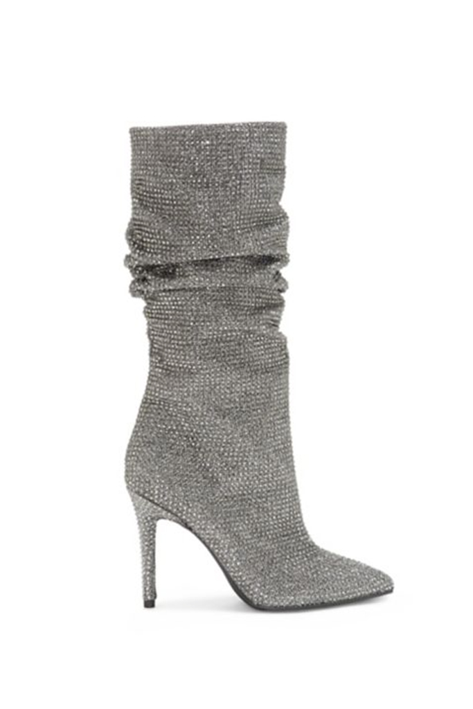 ysl crystal glitter boot, affordable option