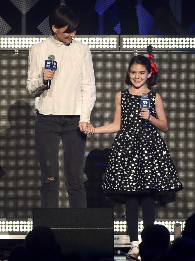 Z100 New York's iHeartRadio Jingle Ball, suri cruise, katie holmes