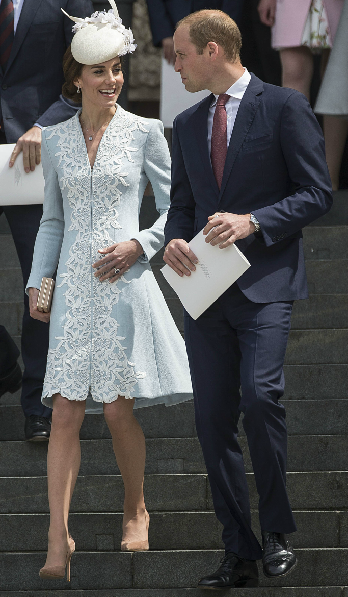2016 National Service of Thanksgiving, duke and duchess of cambridge, kate middleton, prince william