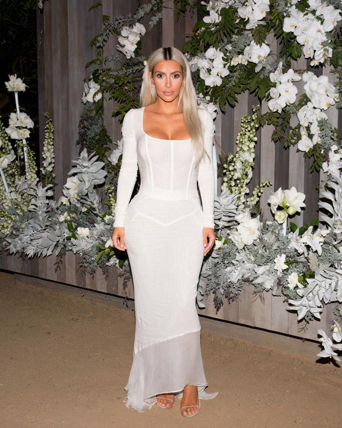 Kim Kardashian blond, kkw fragrance