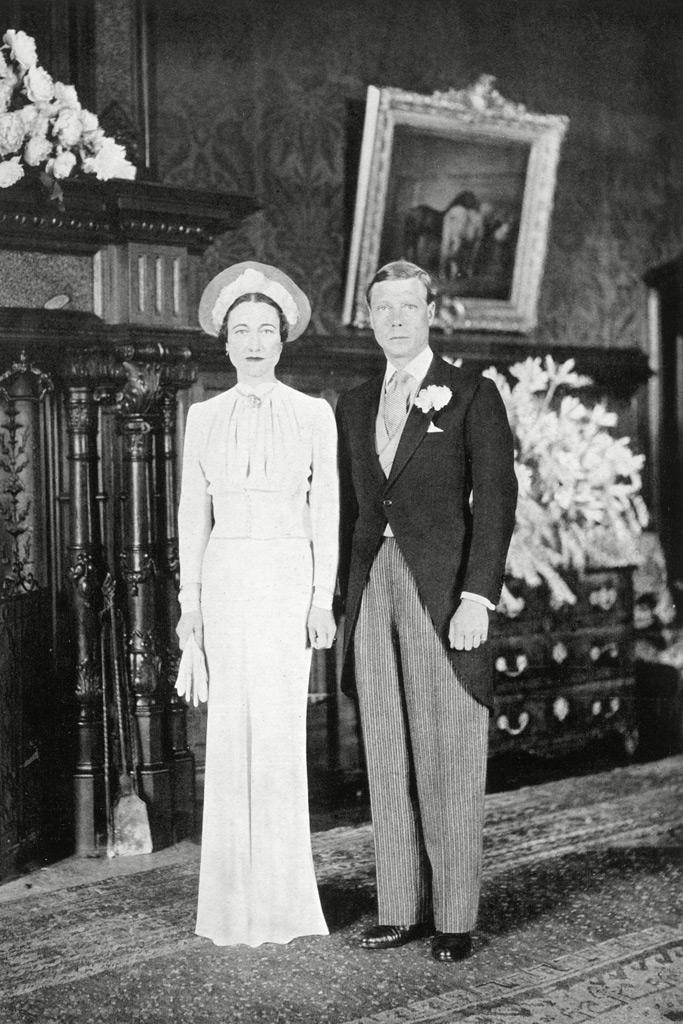 King Edward VIII, wedding, American, Wallis Simpson