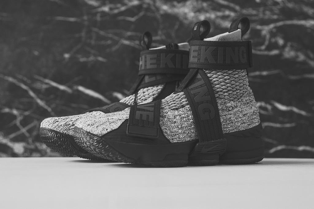 Kith x Nike LeBron 15 Concrete