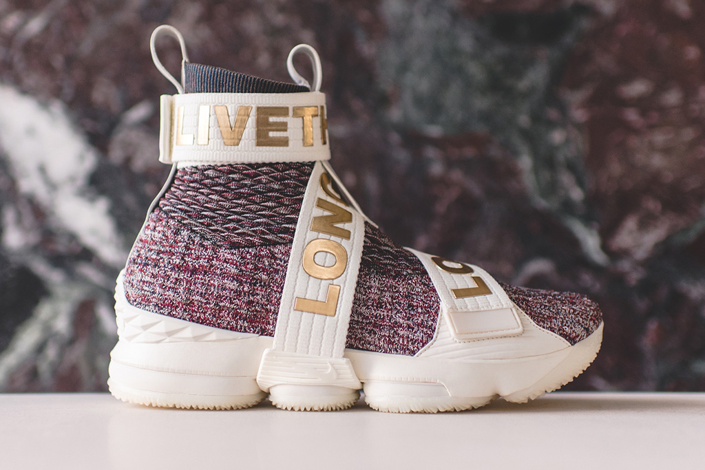 Kith x Nike LeBron 15 Stained Glass