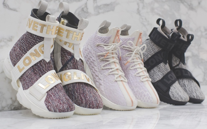 Kith x Nike LeBron 15 Long Live the King collection