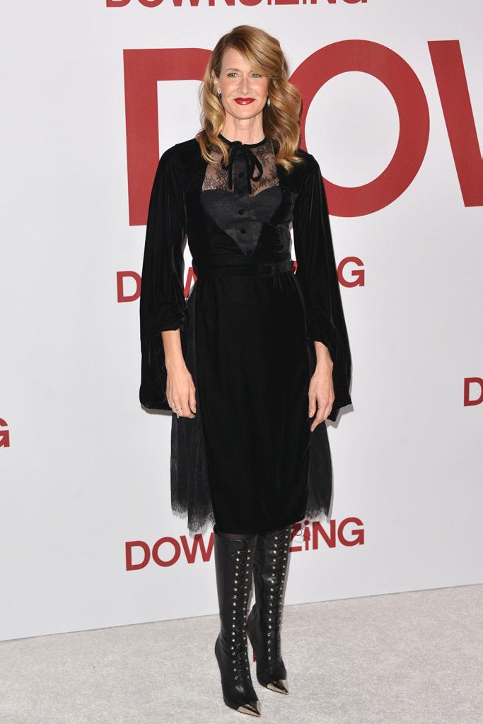 Laura Dern, downsizing, los angeles, film premiere