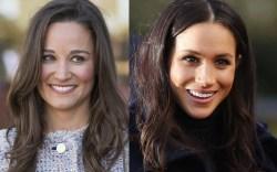 Meghan Markle, pippa middleton, look alike