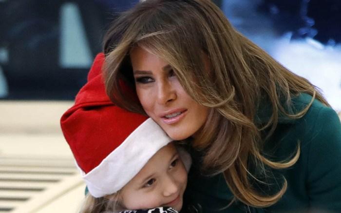 Melania Trump: Toys for Tots