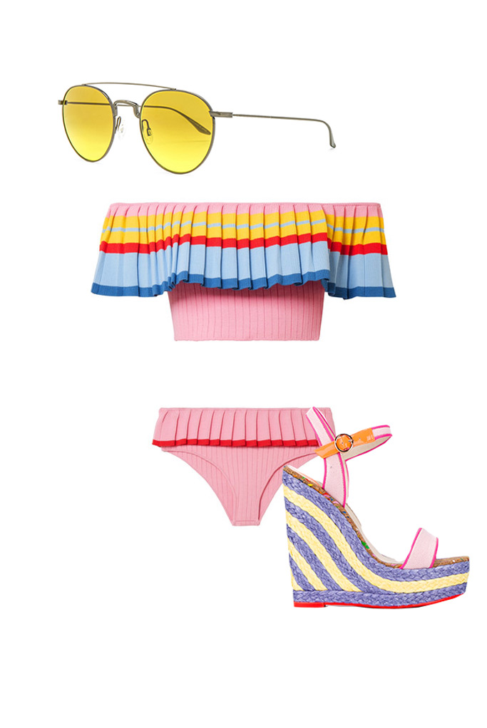 Miami , bathing suit, sunglasses