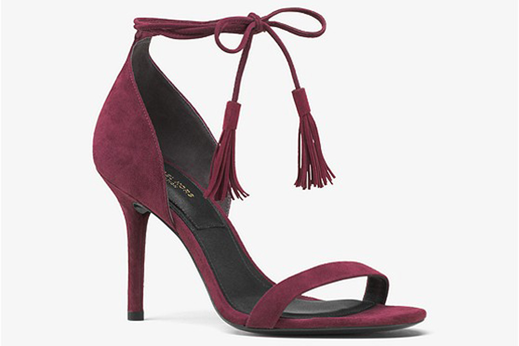 Michael Kors Collection Rosemary Suede Sandal