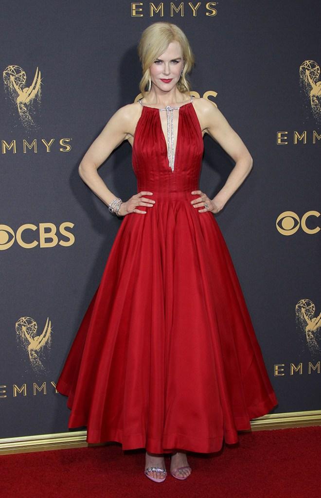 Nicole Kidman Emmy Awards 2017