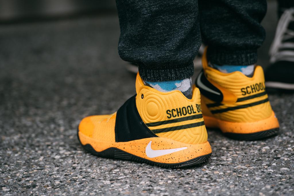 Nike Kyrie Irving 2 , school bus, sneaker con nyc