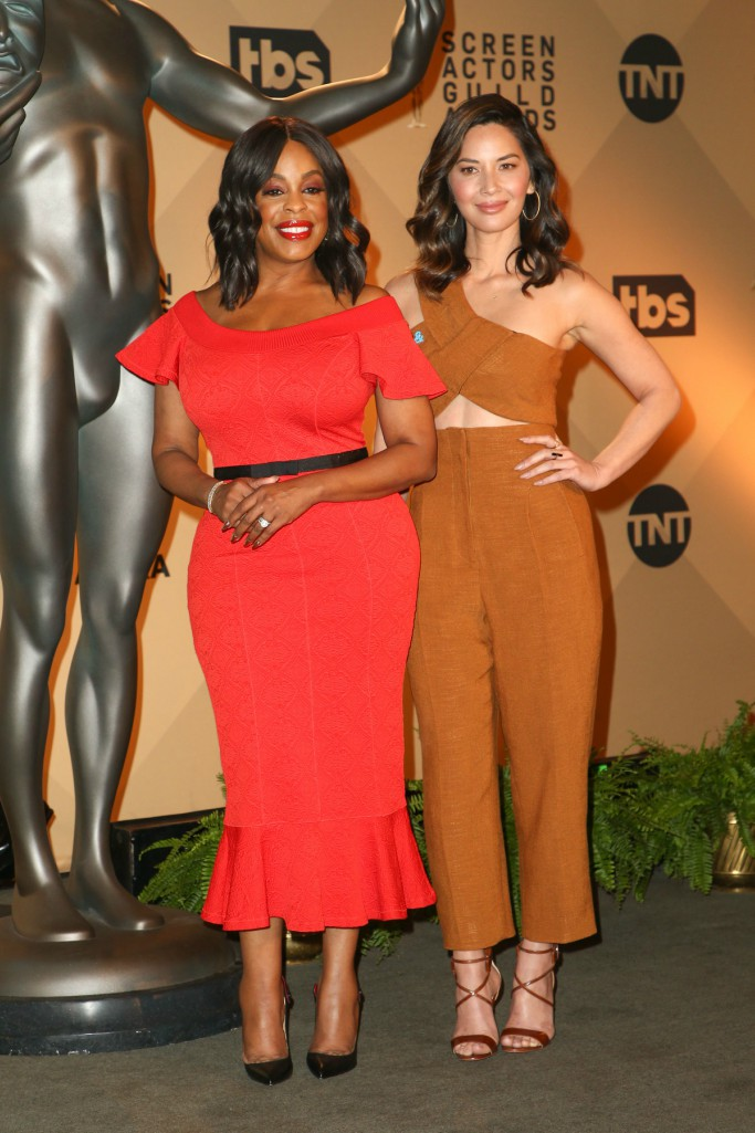 2018 SAG Awards nominations, olivia munn, niecy nash, Rosetta Getty