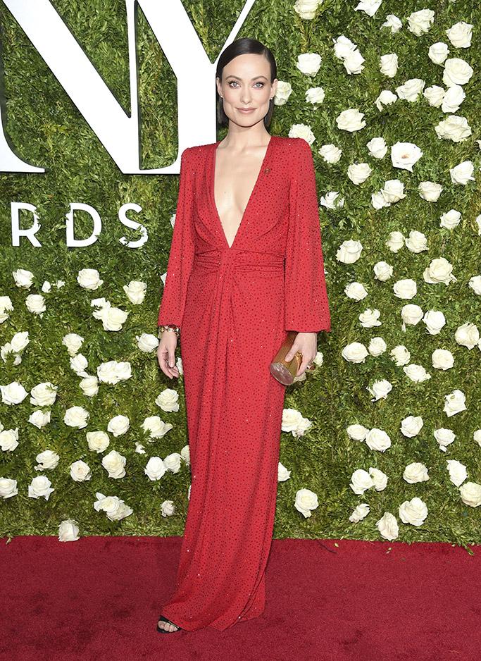 Olivia Wilde 2017 Tony Awards