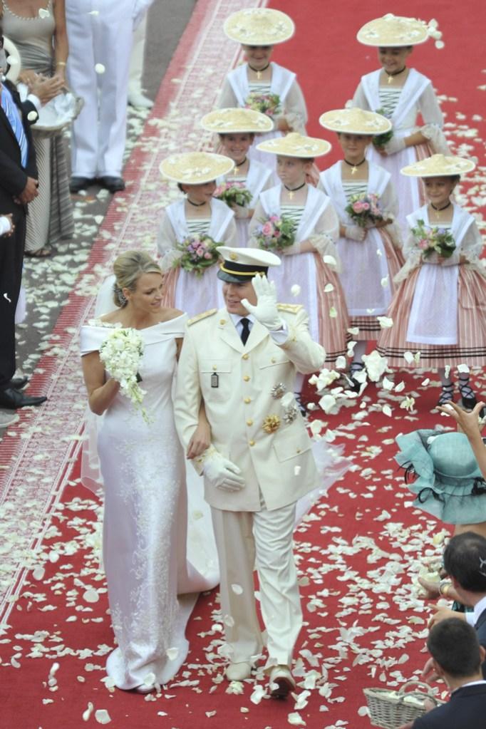 Prince Albert II of Monaco, Grace Kelly's son, Charlene Wittstock, dw