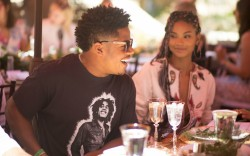 Chanel Iman and Sterling Shepard Style