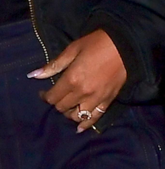 rihanna, ring, engagement ring