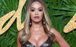 Rita Ora British Fashion Awards versace
