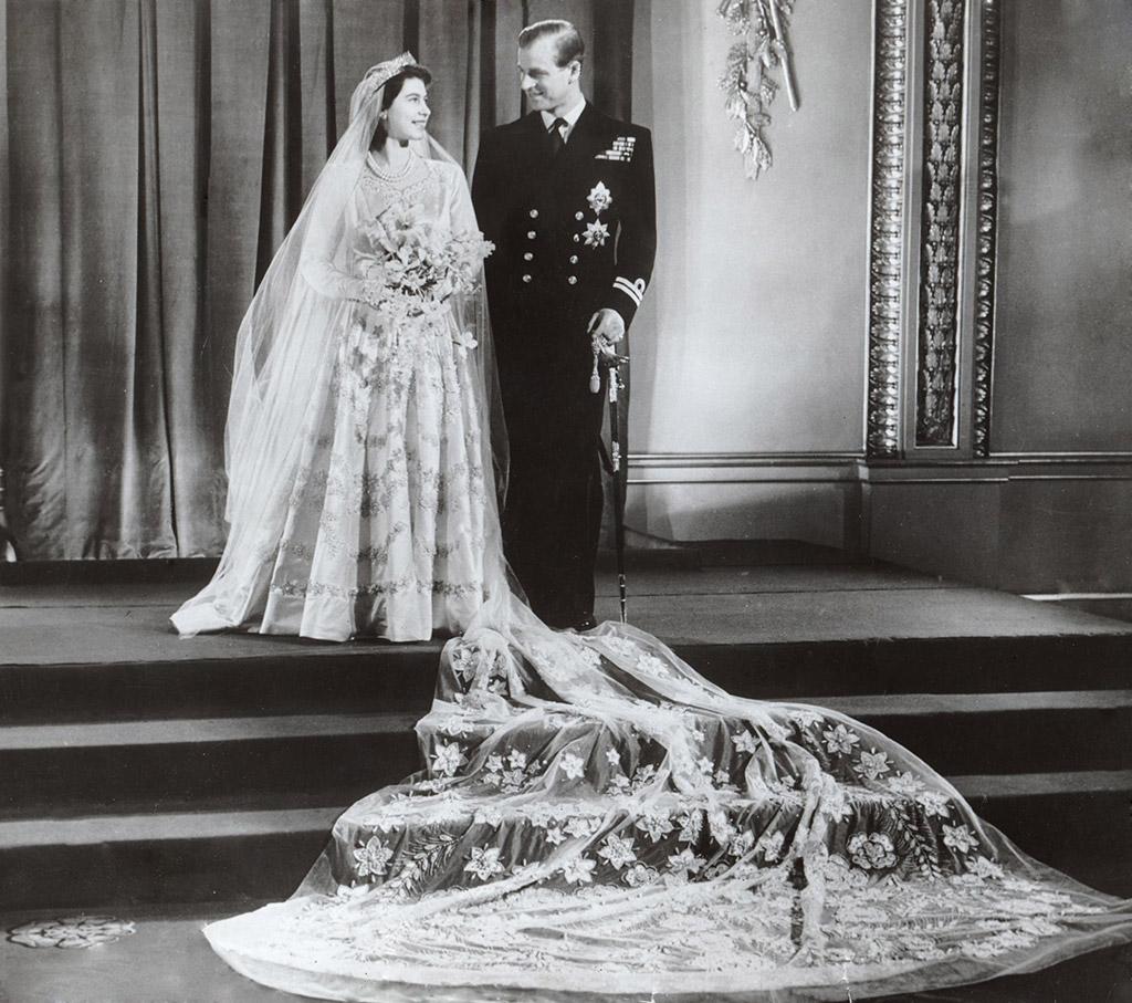 Queen Elizabeth II, wedding, ration stamps