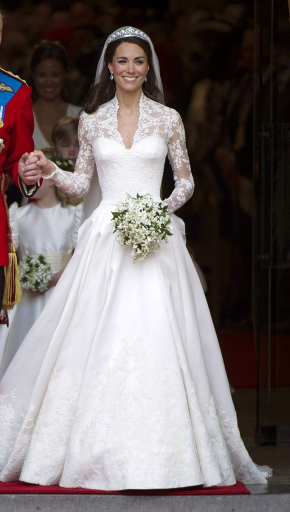 Kate Middleton, wedding day, dress