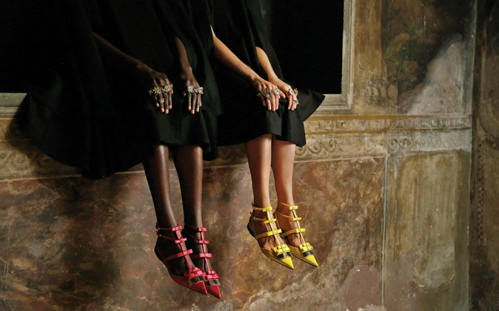 Sergio Rossi Shoes Spring 2018