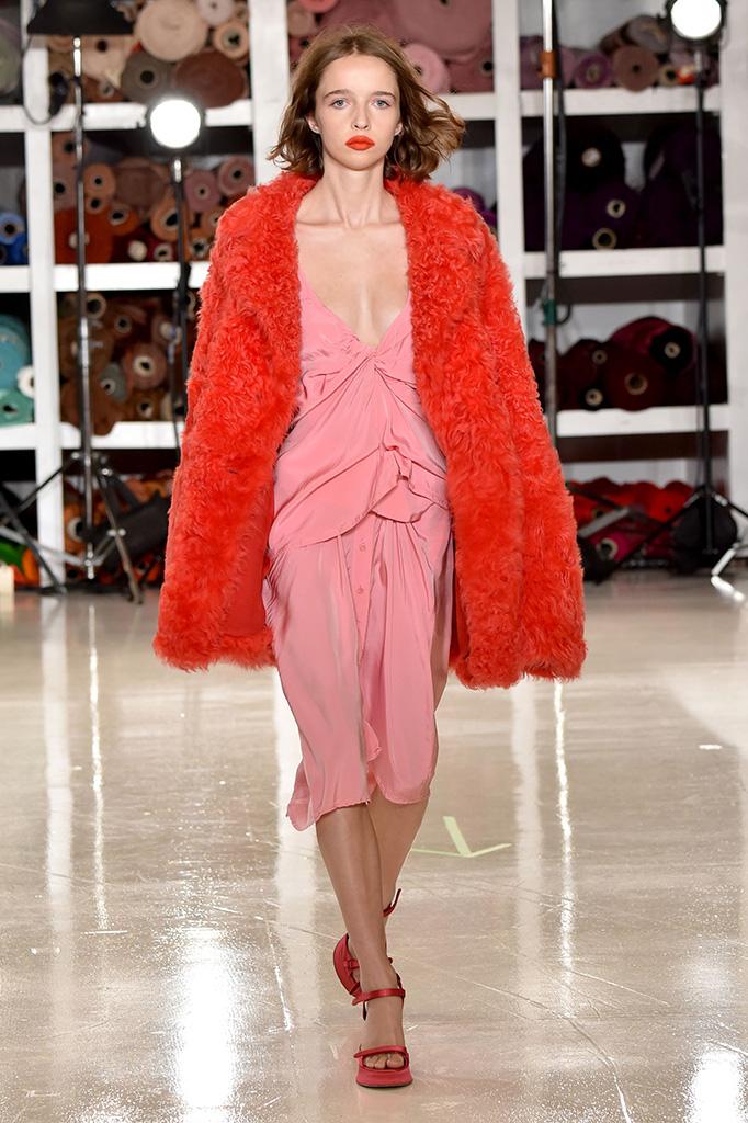 Model on the catwalkSies Marjan show, Runway, Spring Summer 2018, New York Fashion Week, USA - 10 Sep 2017
