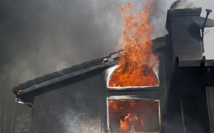 ventura county, skirball, fire, wildfire, california