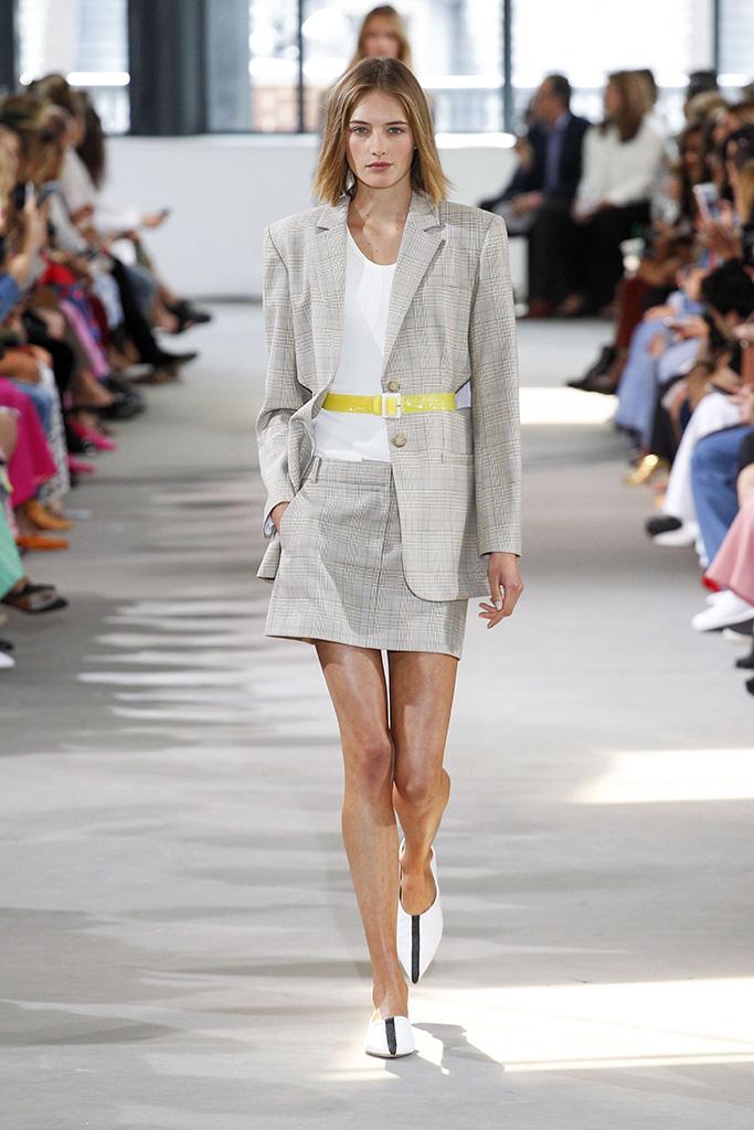 Model on catwalkTibi show, Runway, Spring Summer 2018, New York Fashion Week, USA - 09 Sep 2017