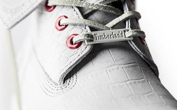 Timberland 6-Inch Waterproof Boot White Serpent