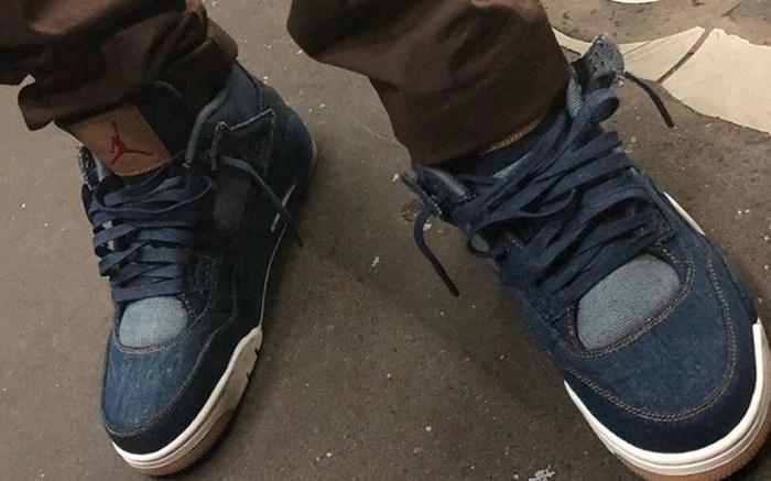Levis x Air Jordan 4