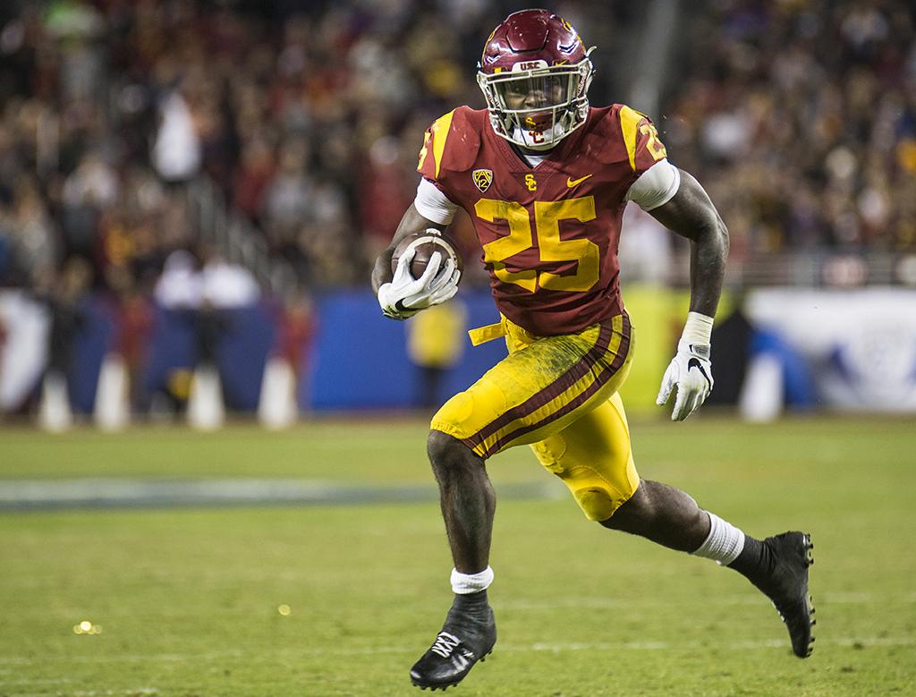 USC running back Ronald Jones II