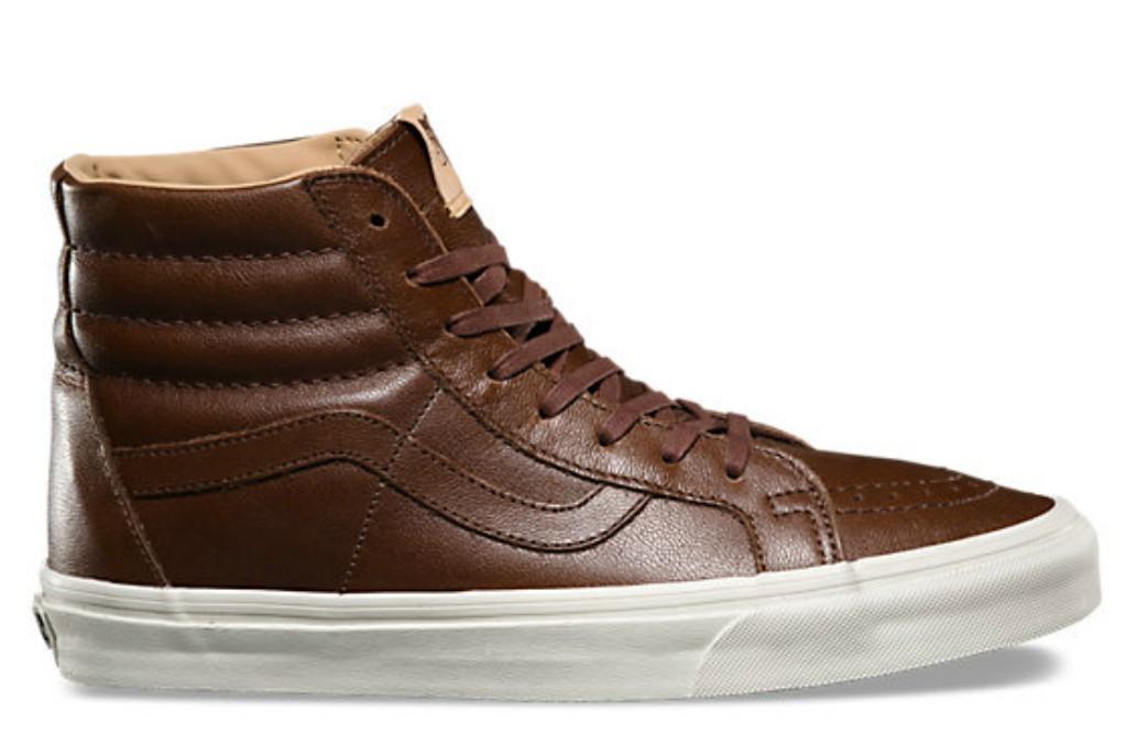 Vans Luxe Leather SK8-Hi Reissue