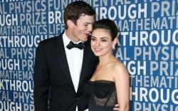 Mila Kunis, Ashton Kutcher, Breakthrough Prize