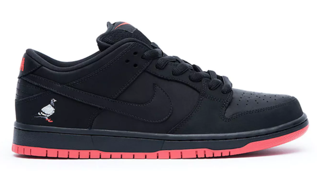 "Nike SB Dunk Low ""Black Pigeon"""