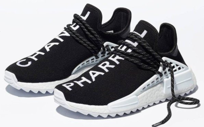 Chanel x Pharrell x Adidas NMD Human Race