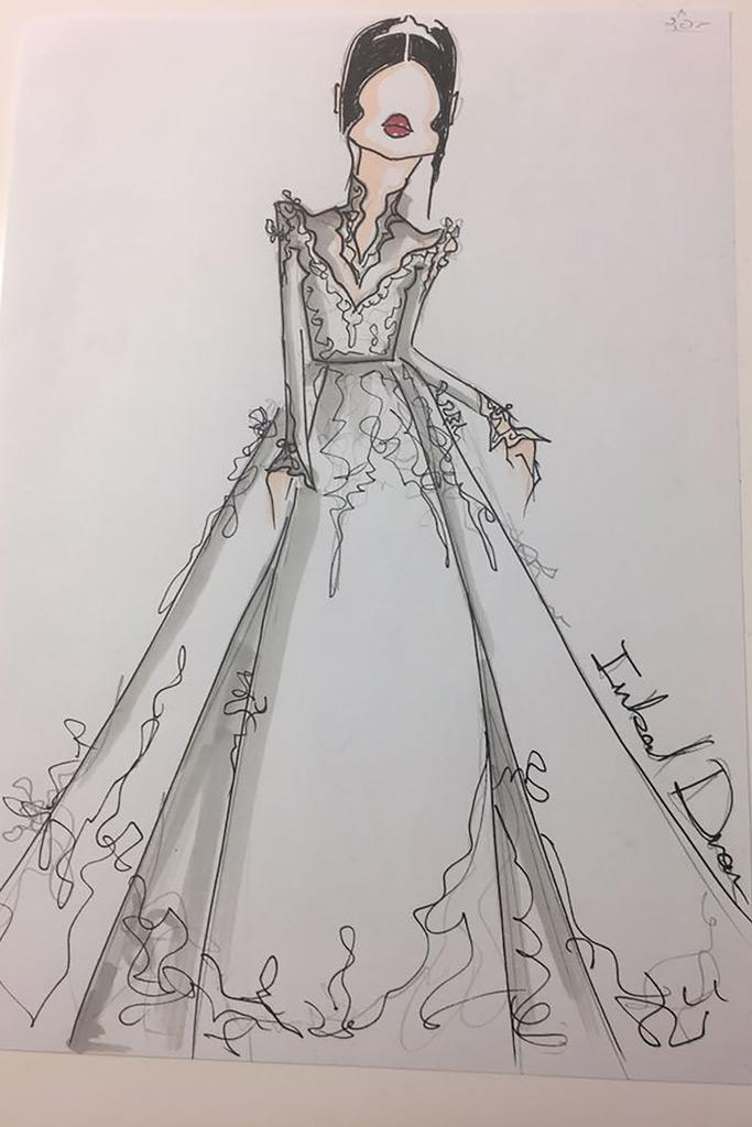 Meghan Markle, wedding dress, design