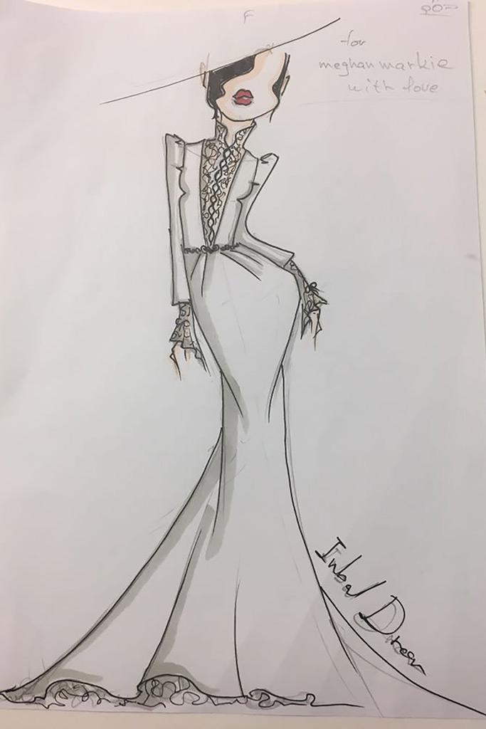 Meghan Markle, wedding dress