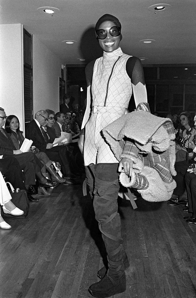 Issey Miyake fall '72 runway, winter boots