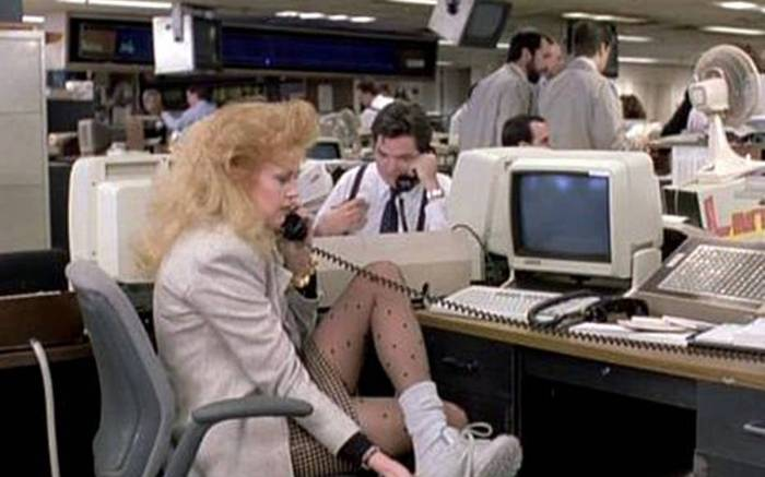 Melanie Griffith Working Girl Commuter Shoes Reebok