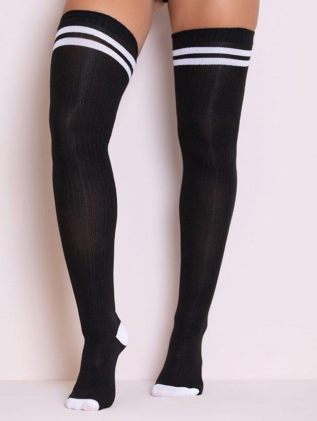 thigh-high socks, socks, over-the-knee, stockings, Thigh-High Sock Alternatives