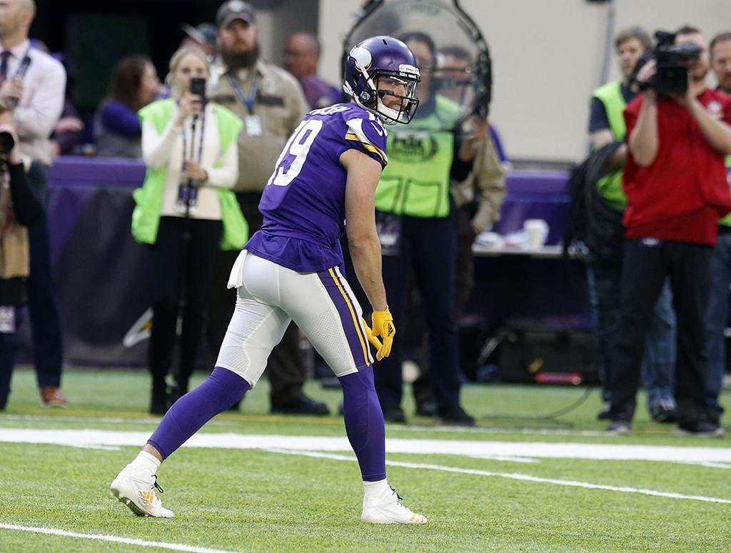 Adam Thielen Minnesota Vikings Adidas Adizero 5-Star 6.0